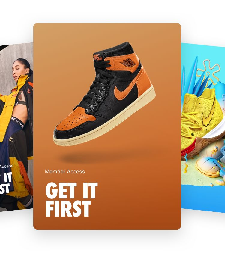 Member Exclusive Products. Nike.com