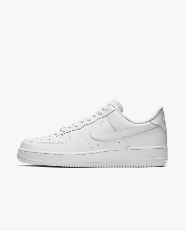 Salg Nike Air Force 1 Beste billige Mennn Nike Air Force 1 lav alle hvite