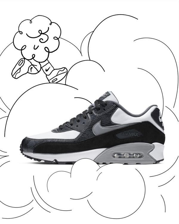 nike soccer boots, NIKE WMNS AIR MAX 90 PREM Sneakers Grün