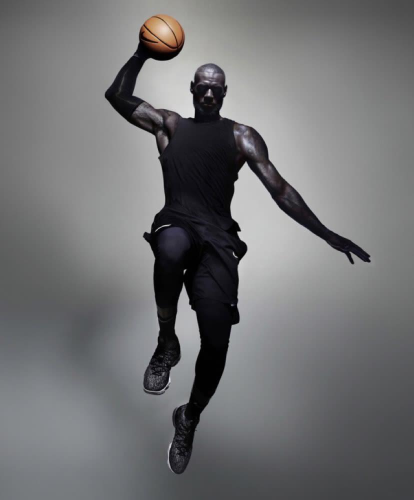 naranja Pensativo Fontanero  LeBron 15. Nike.com