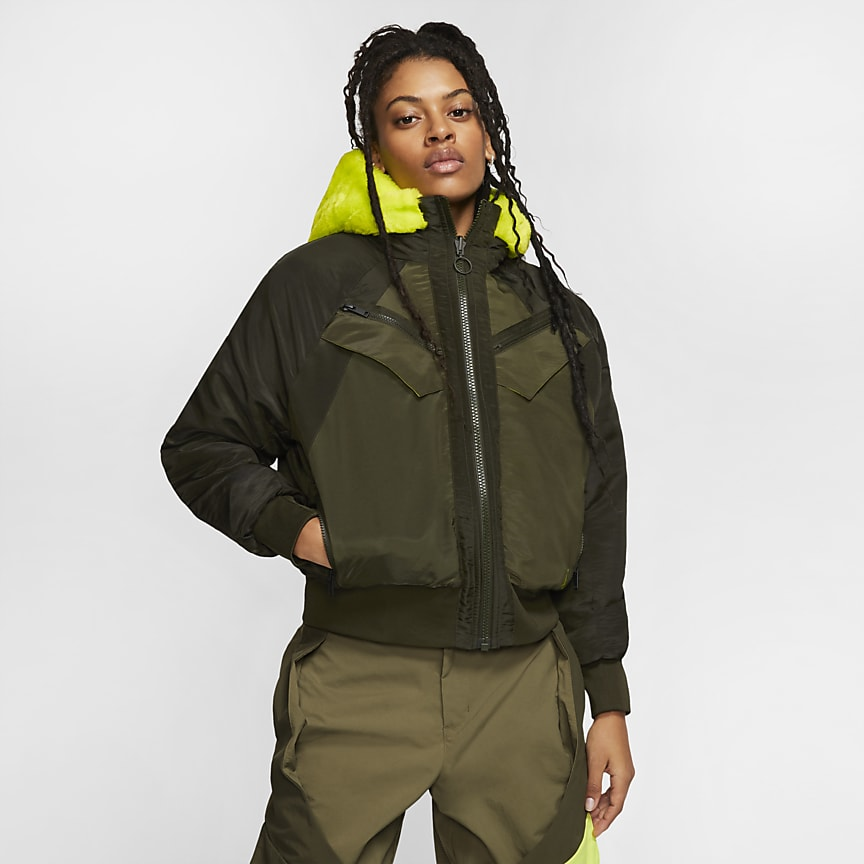 Women's Reversible Bomber Jacket