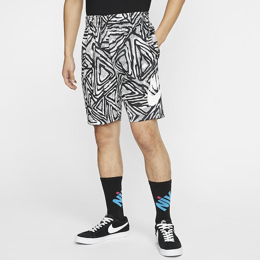 男款滑板短褲