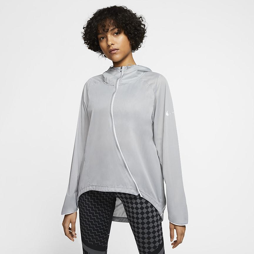 Chamarra de running para mujer