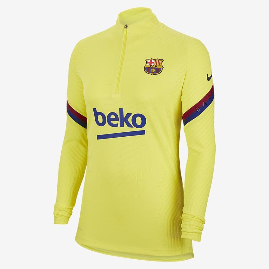 Camiseta de entrenamiento de fútbol para mujer