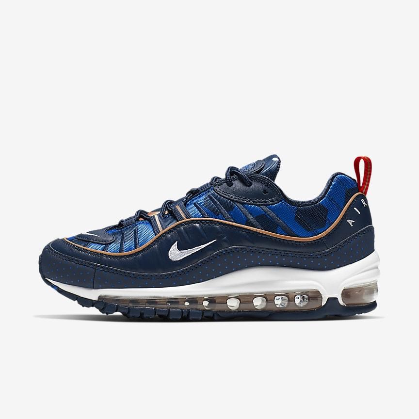 quality design 5cbc4 7a63a Nike Air Max 98 Premium Unité Totale. Chaussure pour Femme