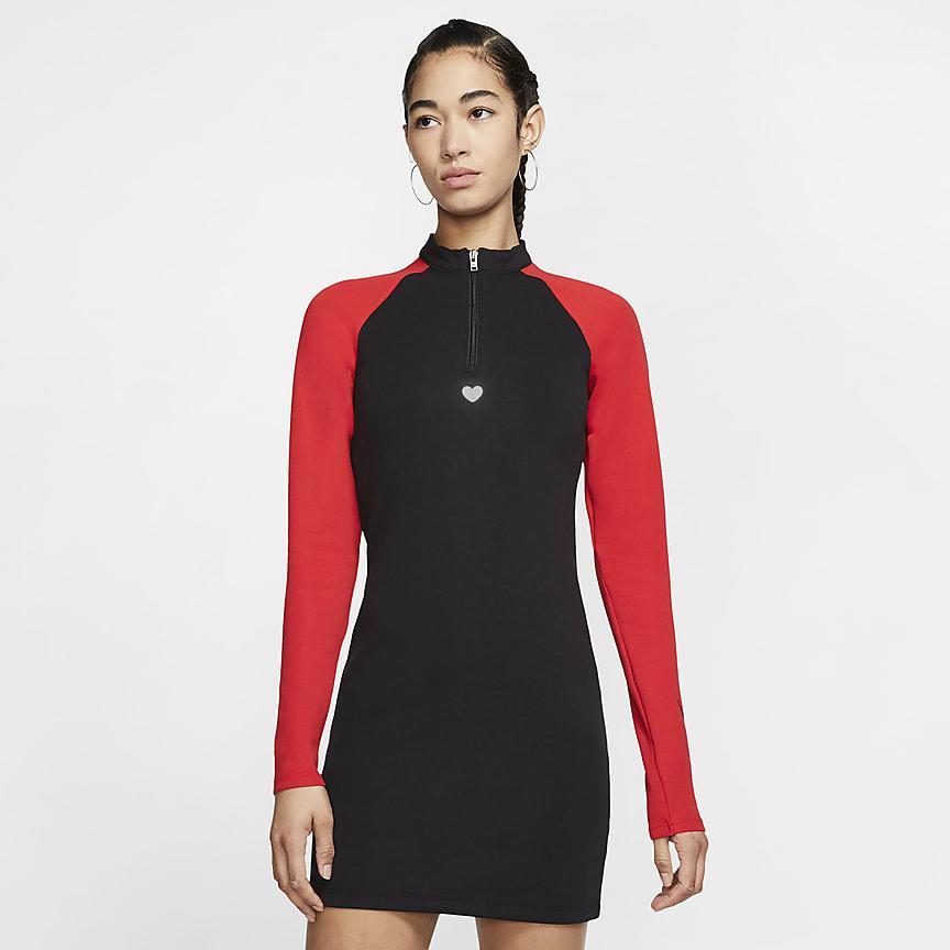 Women's Long-Sleeve Dress