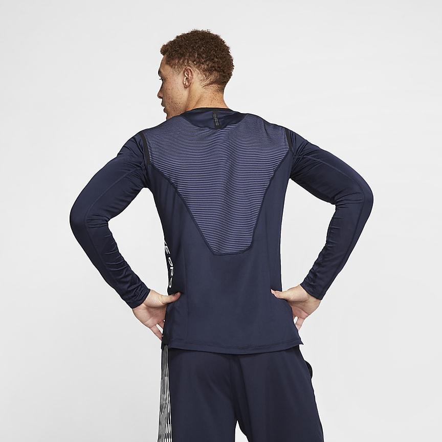 Långärmad tröja för män