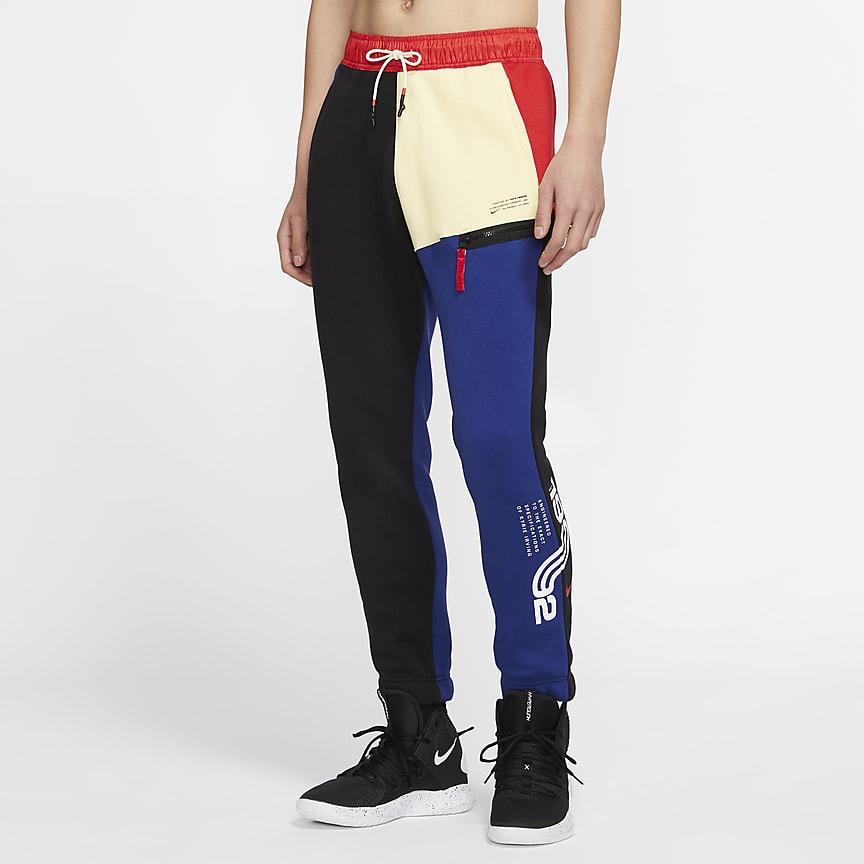 Pánské flísové basketbalové kalhoty