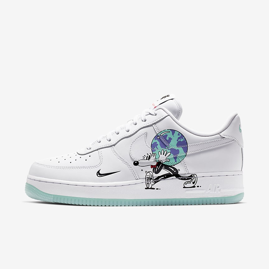 6f5bdaa3126f Nike Air Force 1 QS Flyleather with at least 50% leather fibre