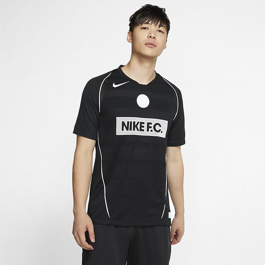 Camisola de futebol de manga curta para homem