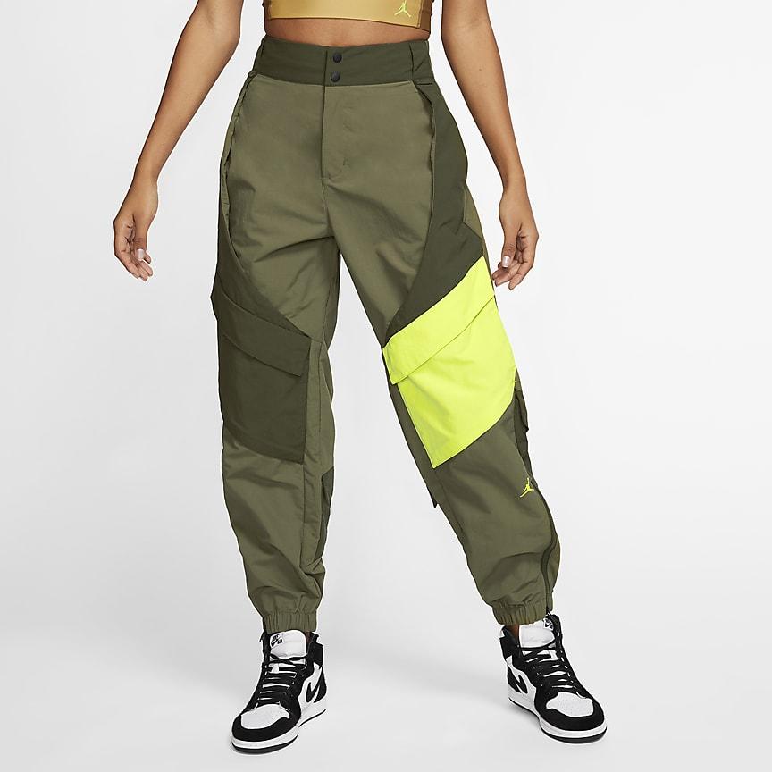 Calças utilitárias para mulher