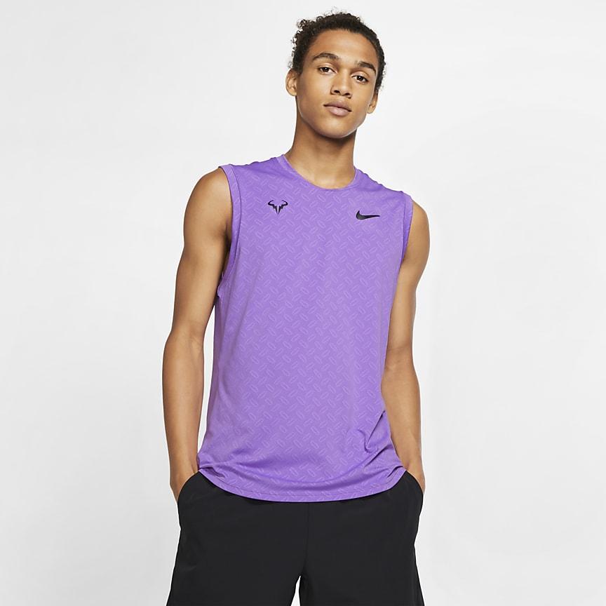 Men's Sleeveless Tennis Top