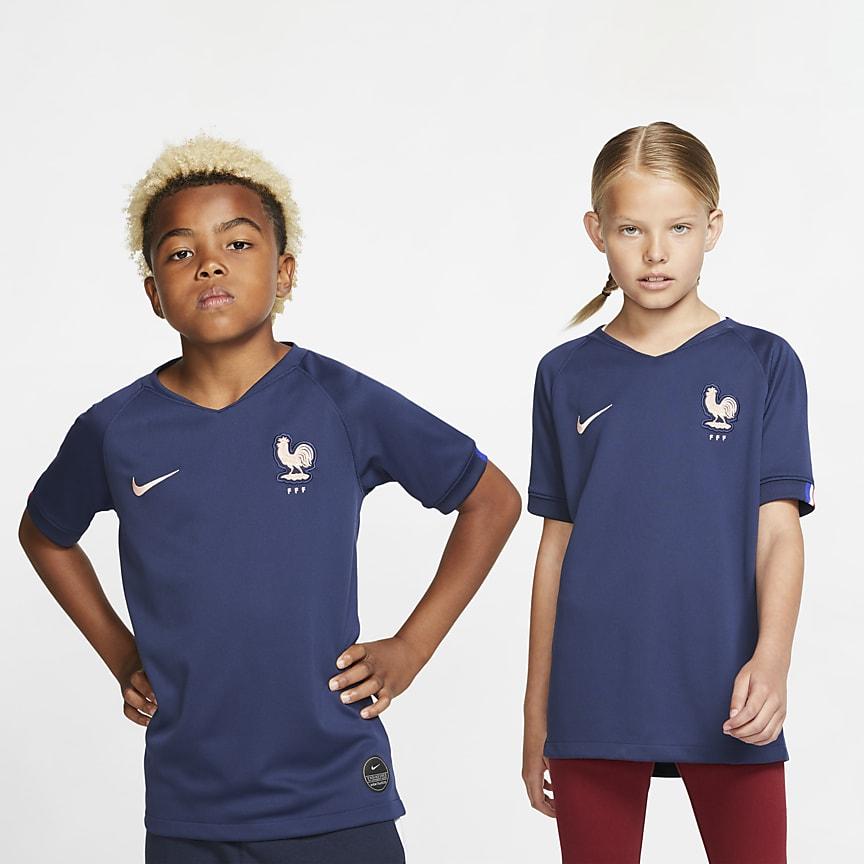 Camiseta de fútbol para niño talla grande