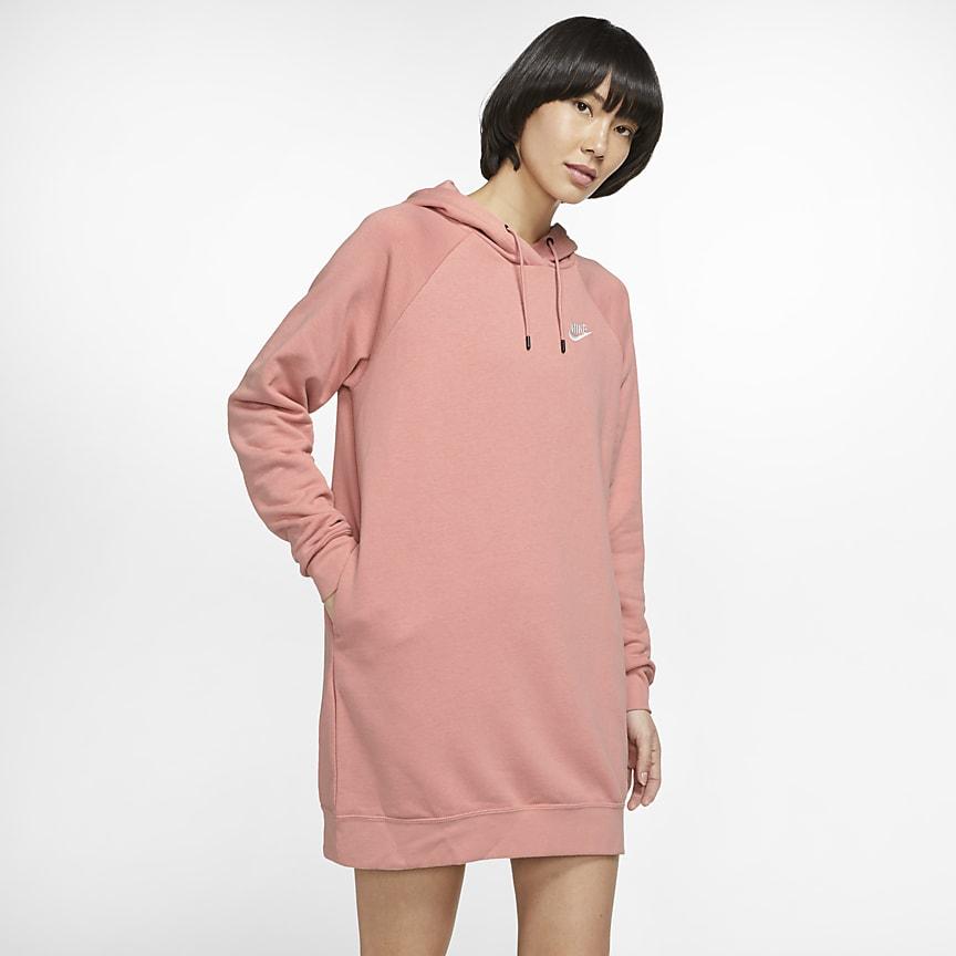 Vestido de tejido Fleece - Mujer