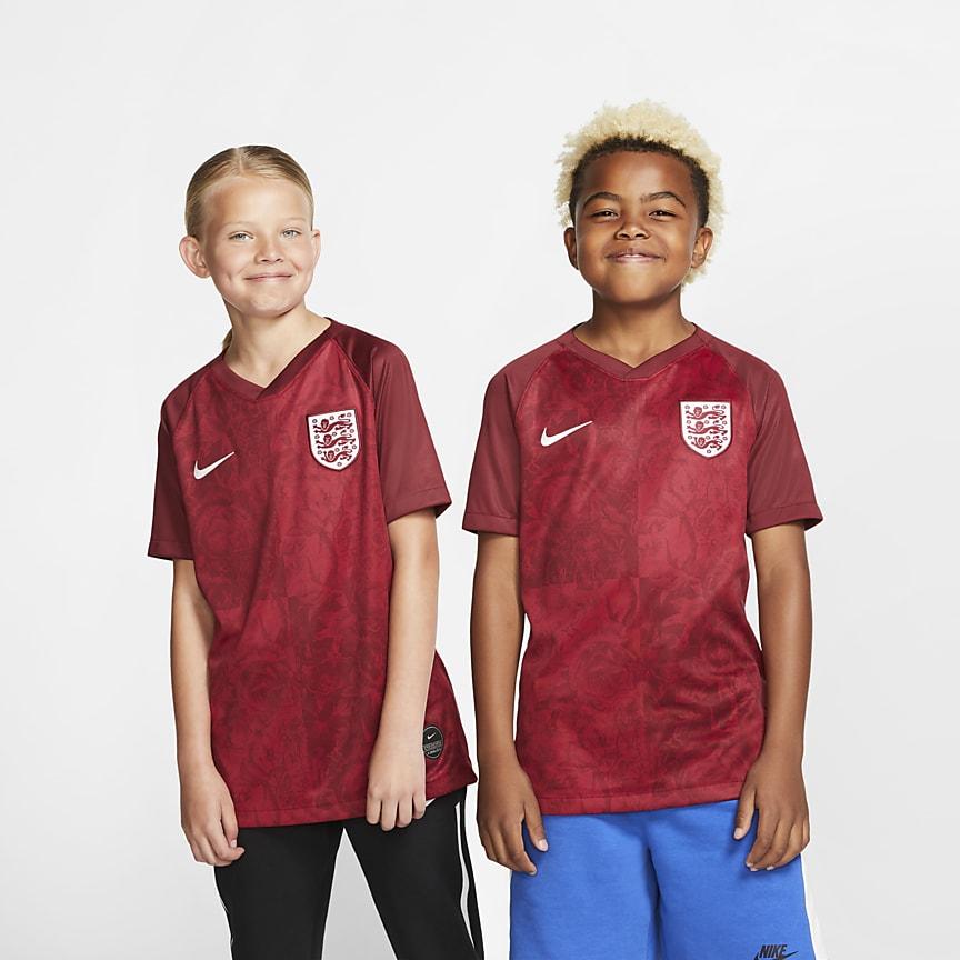5a0e71f7 England 2019 Stadium Away. Футбольное джерси для школьников