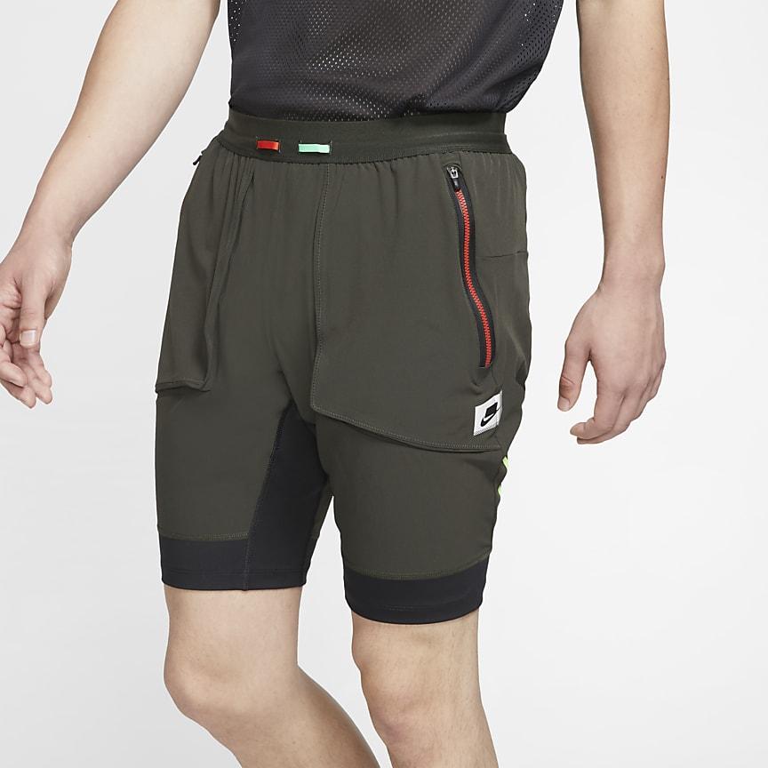 Мужские гибридные беговые шорты