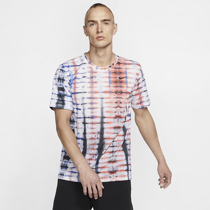 Kurzarm-Trainings-T-Shirt für Herren
