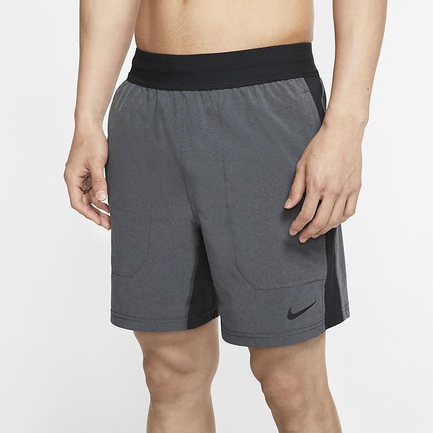 メンズ ヨガ トレーニングショートパンツ