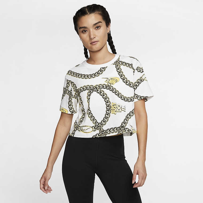 Women's Short-Sleeve Crop Top