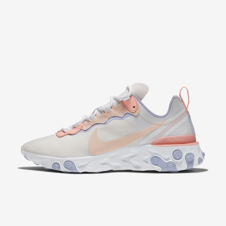 the latest 302e6 52337 Nike React Element 55. Women s Shoe