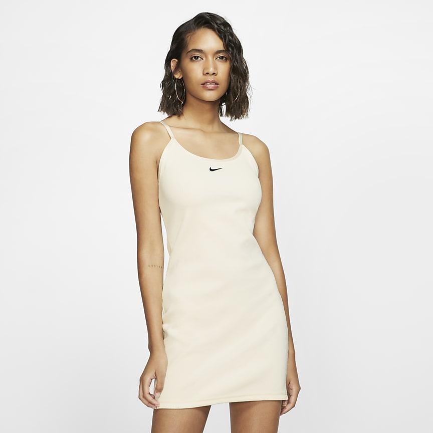 Geripptes JDI-Kleid für Damen