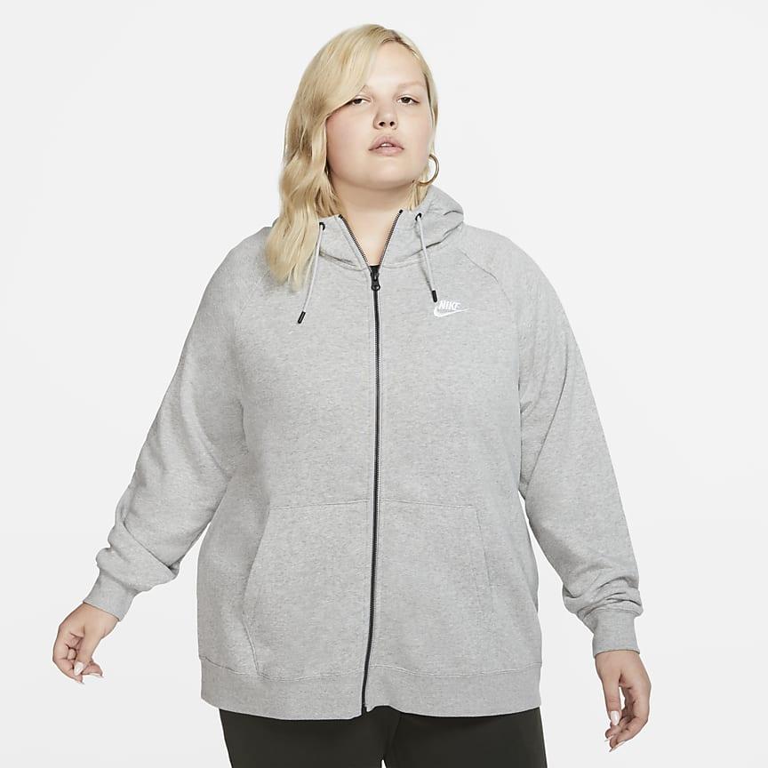 Sudadera con capucha y cremallera completa - Mujer