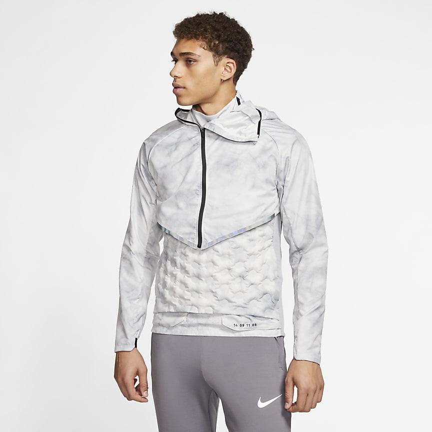 Мужская беговая куртка