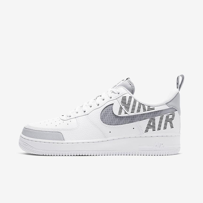 Nike Air Force 1 Baskets à imprimé léopard Vert sauge
