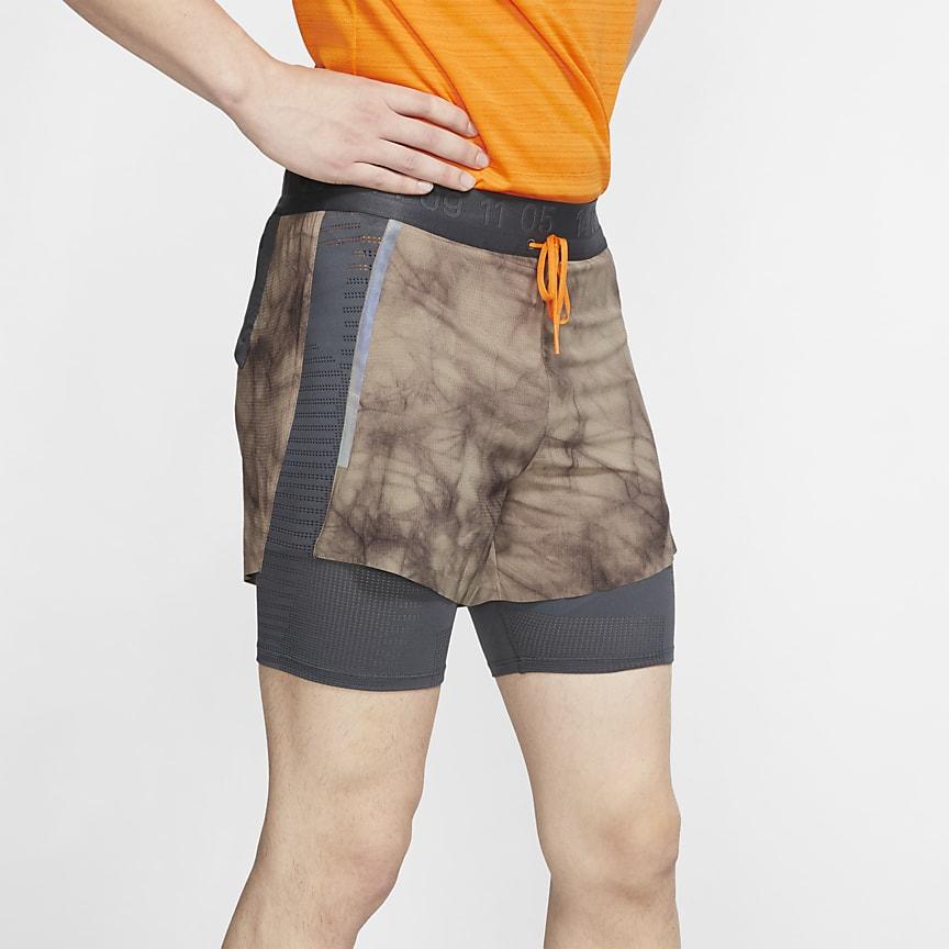 男款 2-in-1 跑步短褲