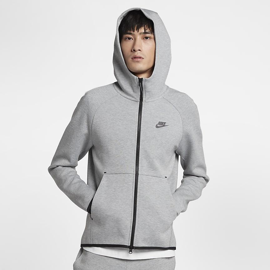 Sweat à capuche et zip pour Homme