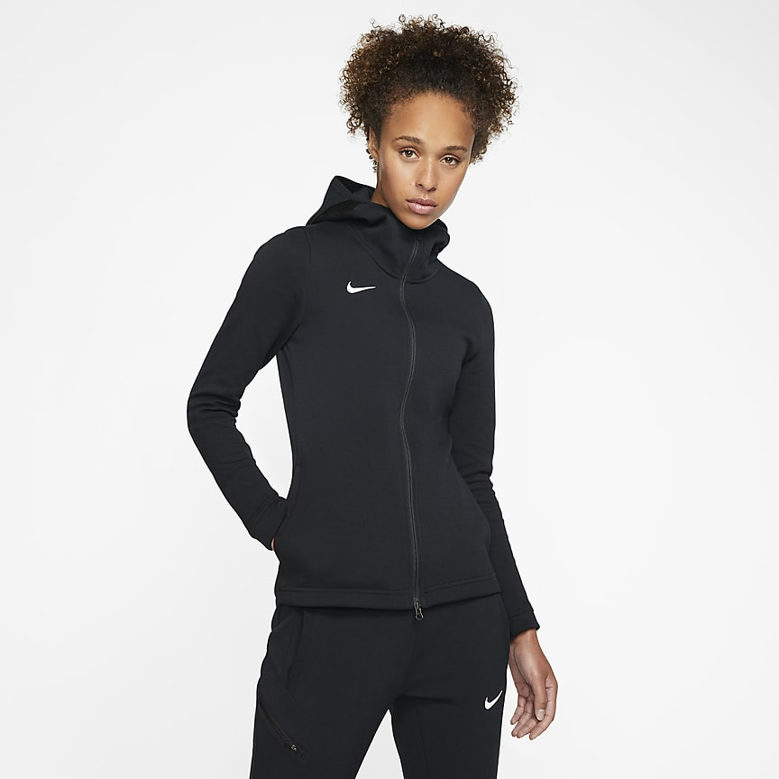 Women's Full-Zip Basketball Hoodie (Stock)