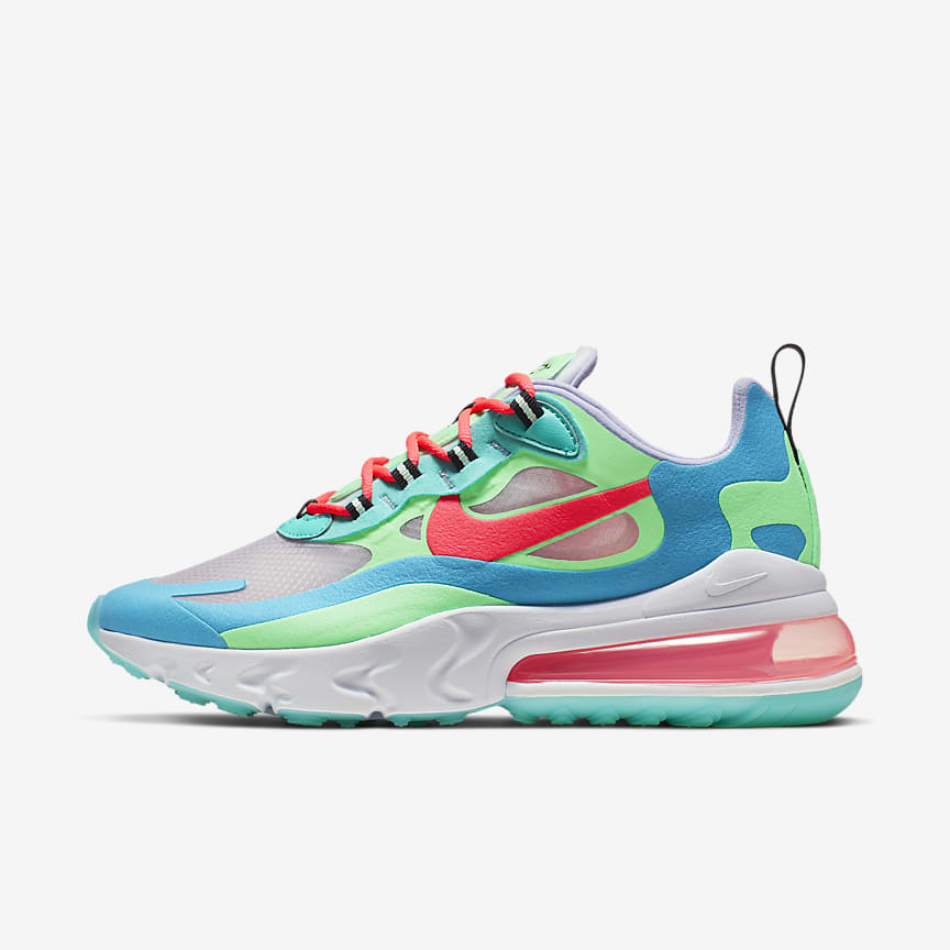 41558811bcbf7 Nike Air Max 270 React. Women's Shoe