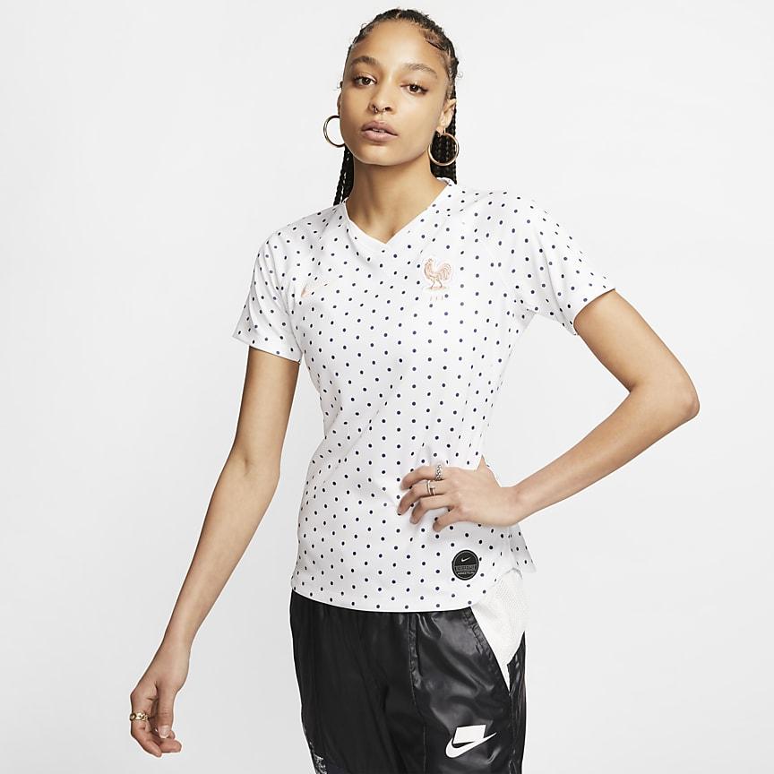 Camiseta de fútbol para mujer