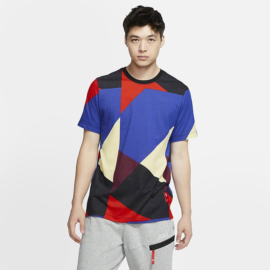 Basket-T-skjorte til herre