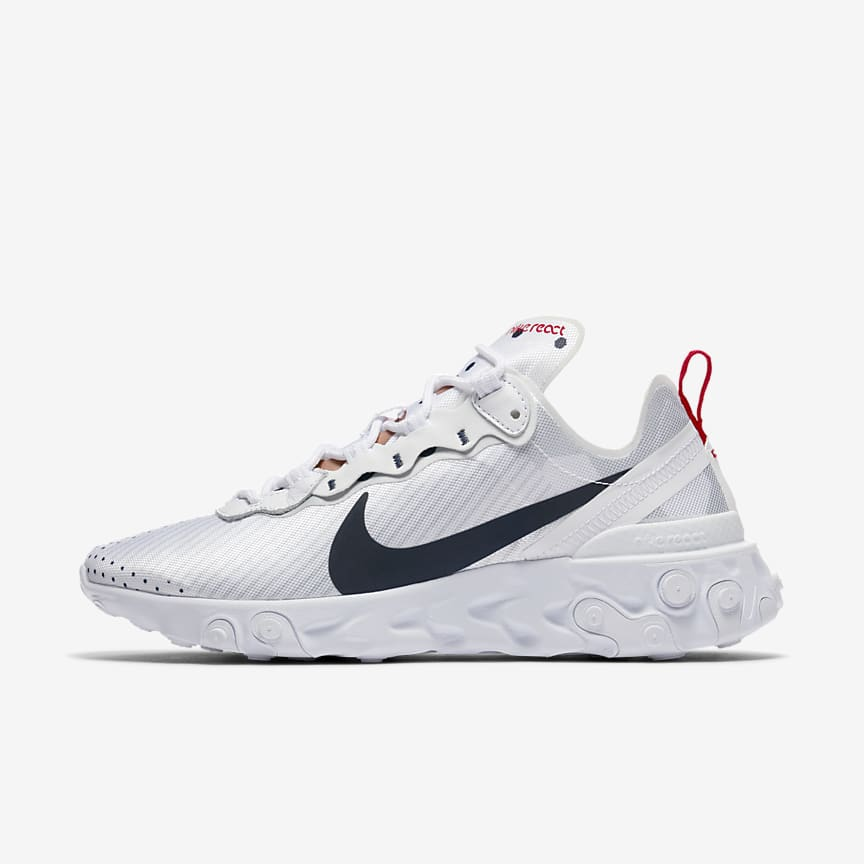new style 754d8 03585 Nike React Element 55 Premium Unité Totale. Women's Shoe