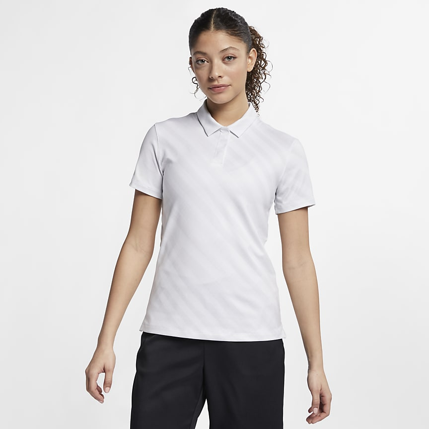 Women's Printed Golf Polo