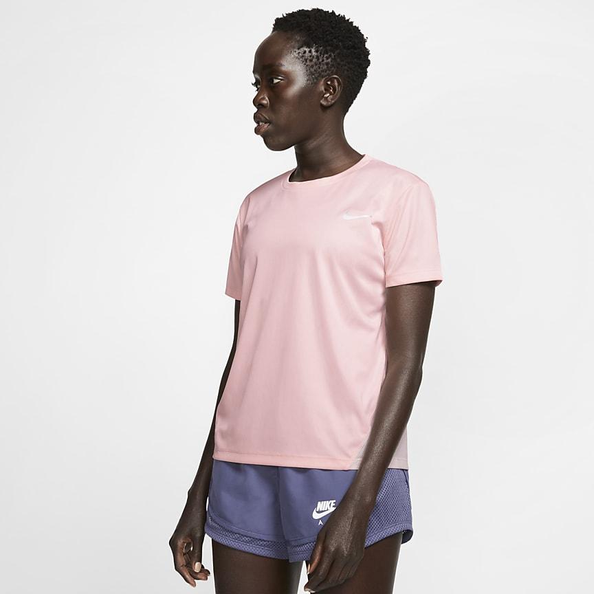 Женская беговая футболка с коротким рукавом