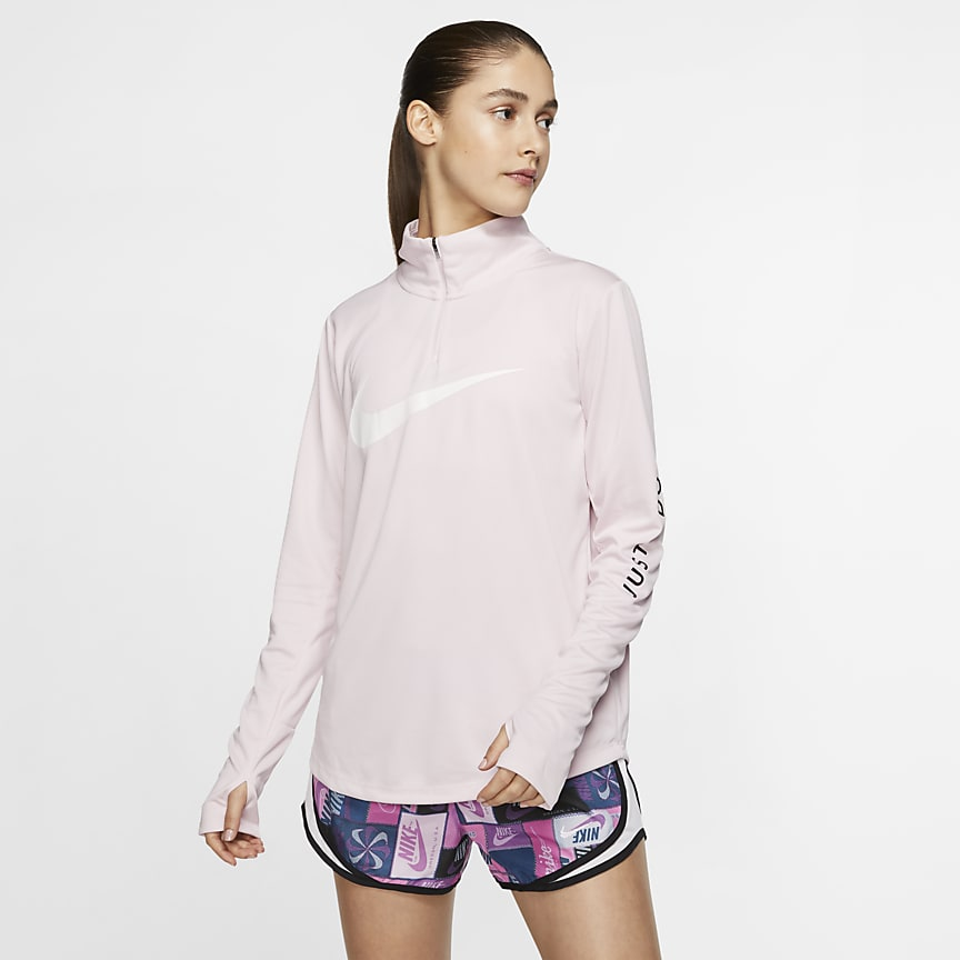 Top da running con zip a 1/4 - Donna