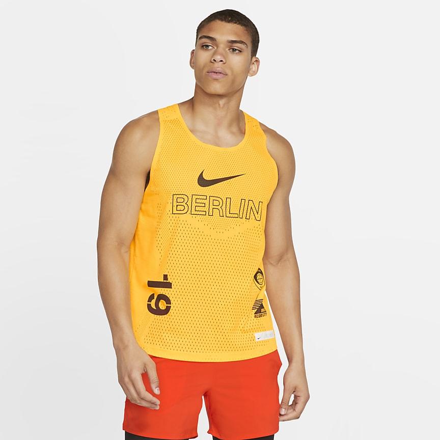 Camiseta de tirantes de running