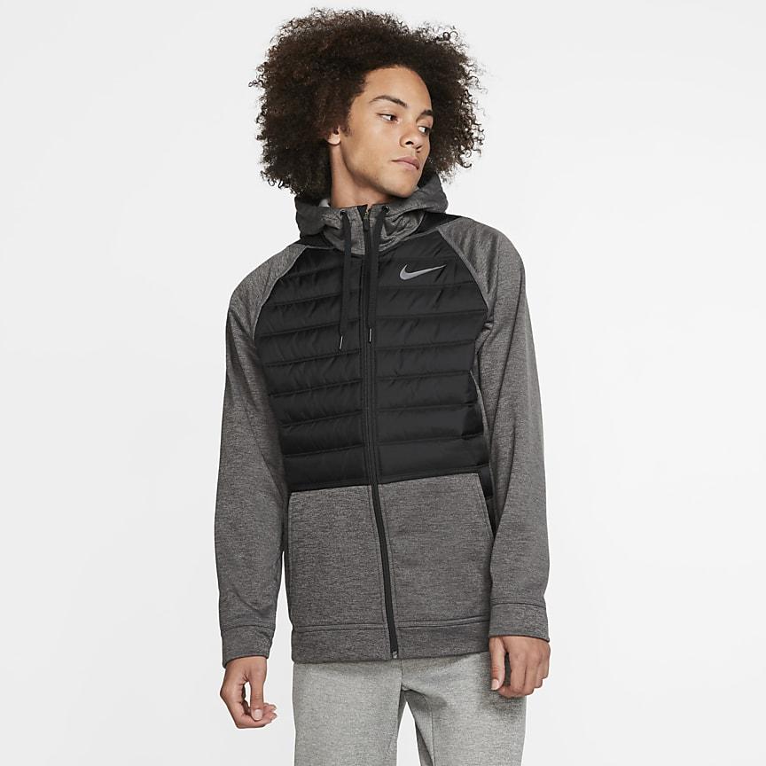 Men's Winterized Full-Zip Training Hoodie