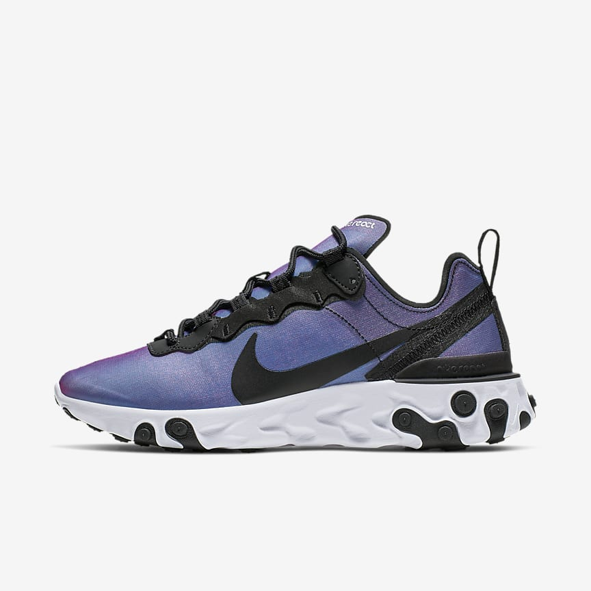 the latest 6efbe 59ab1 Nike React Element 55 Premium. Chaussure pour Femme
