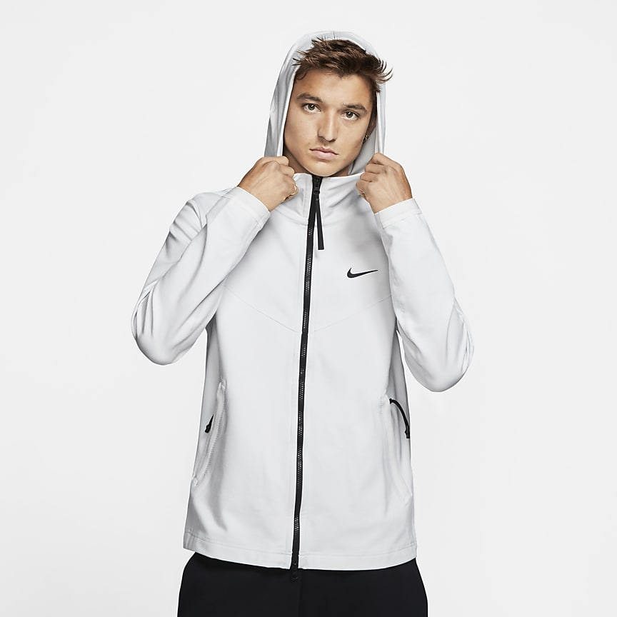 Men's Hooded Full-Zip Jacket