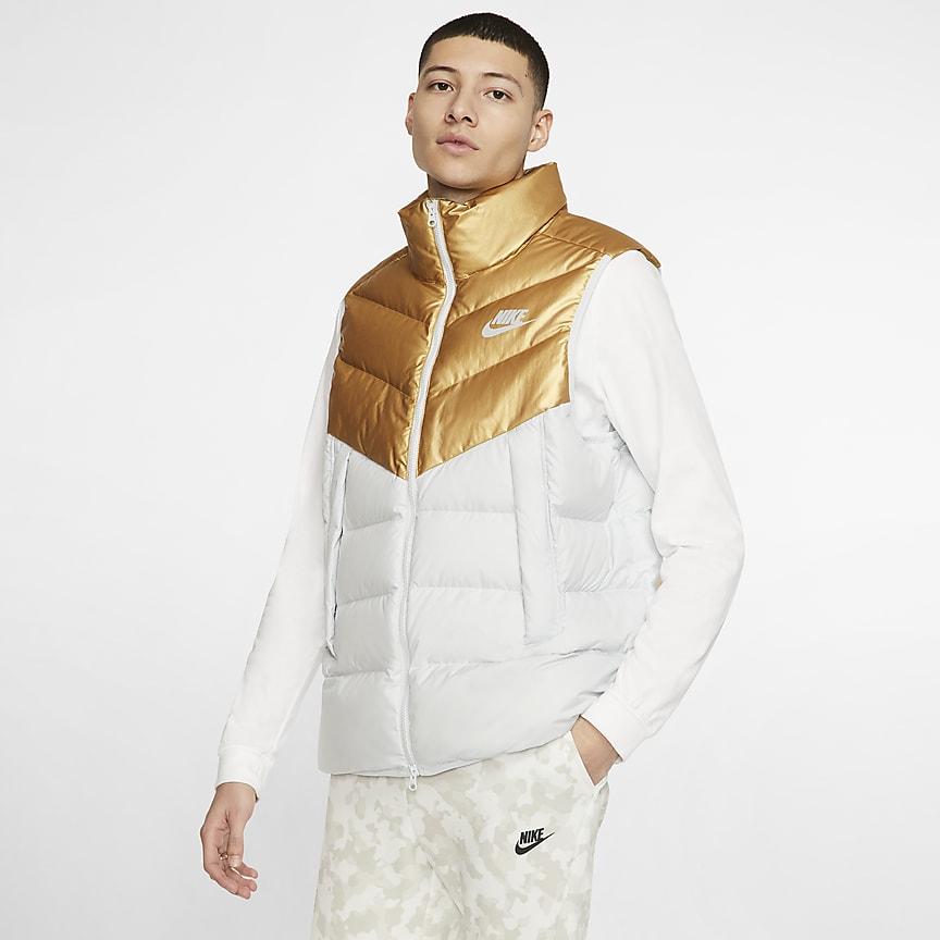 Pánská péřová vesta