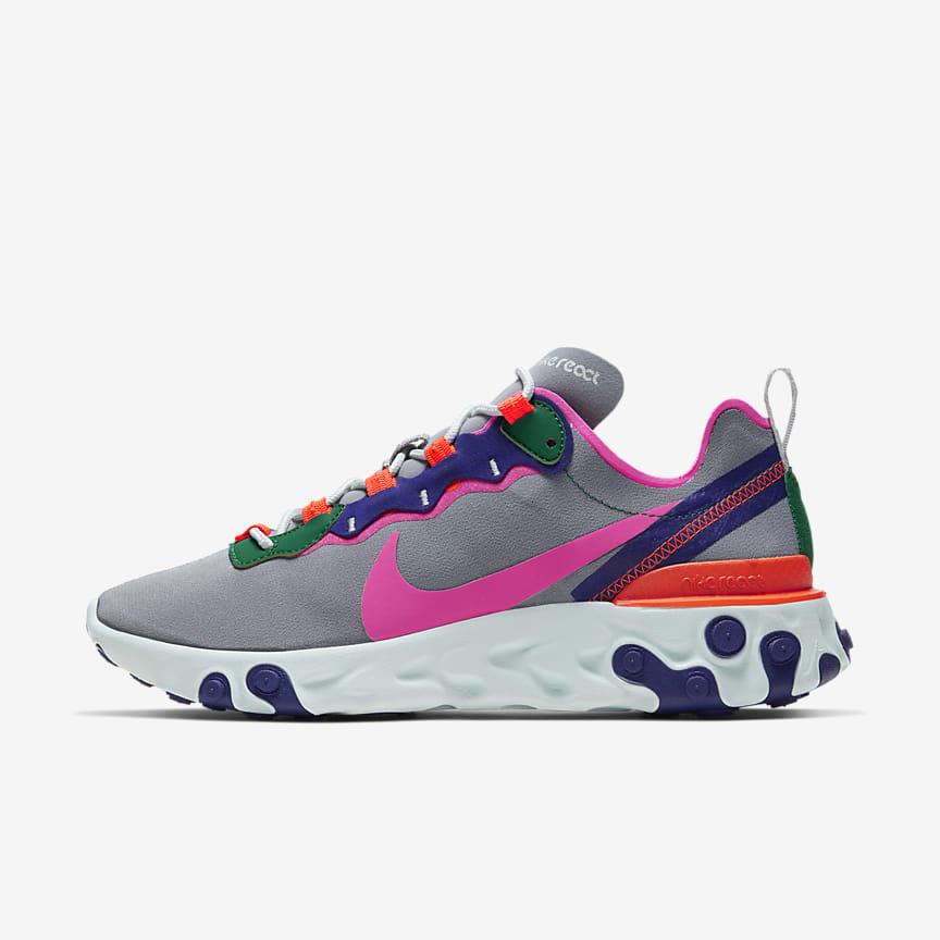 the latest d16c2 a8168 Nike React Element 55. Women s Shoe