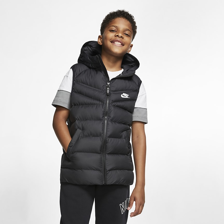 Older Kids' Synthetic-Fill Gilet
