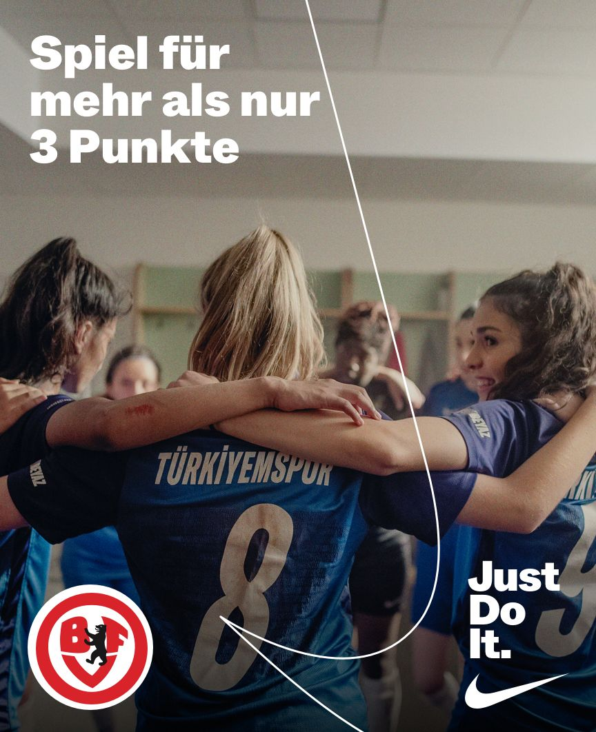 Berliner Fußball-Verband X JUST DO IT