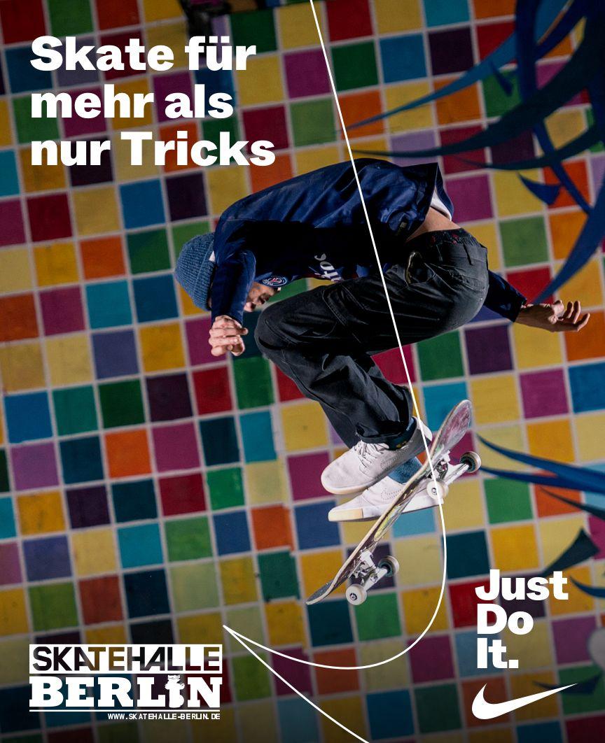 Skatehalle Berlin X JUST DO IT