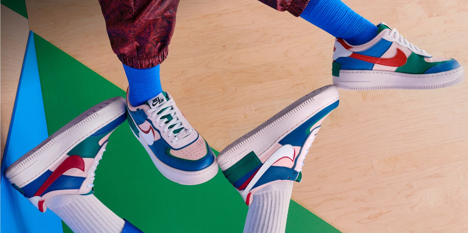 Nike. Just Do It. AU