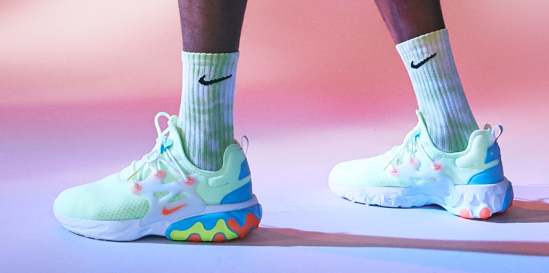timeless design eb51e dc0b5 COLORFUL, COMFORTABLE REACT PRESTO. New from Nike Sportswear. COLORFUL ...