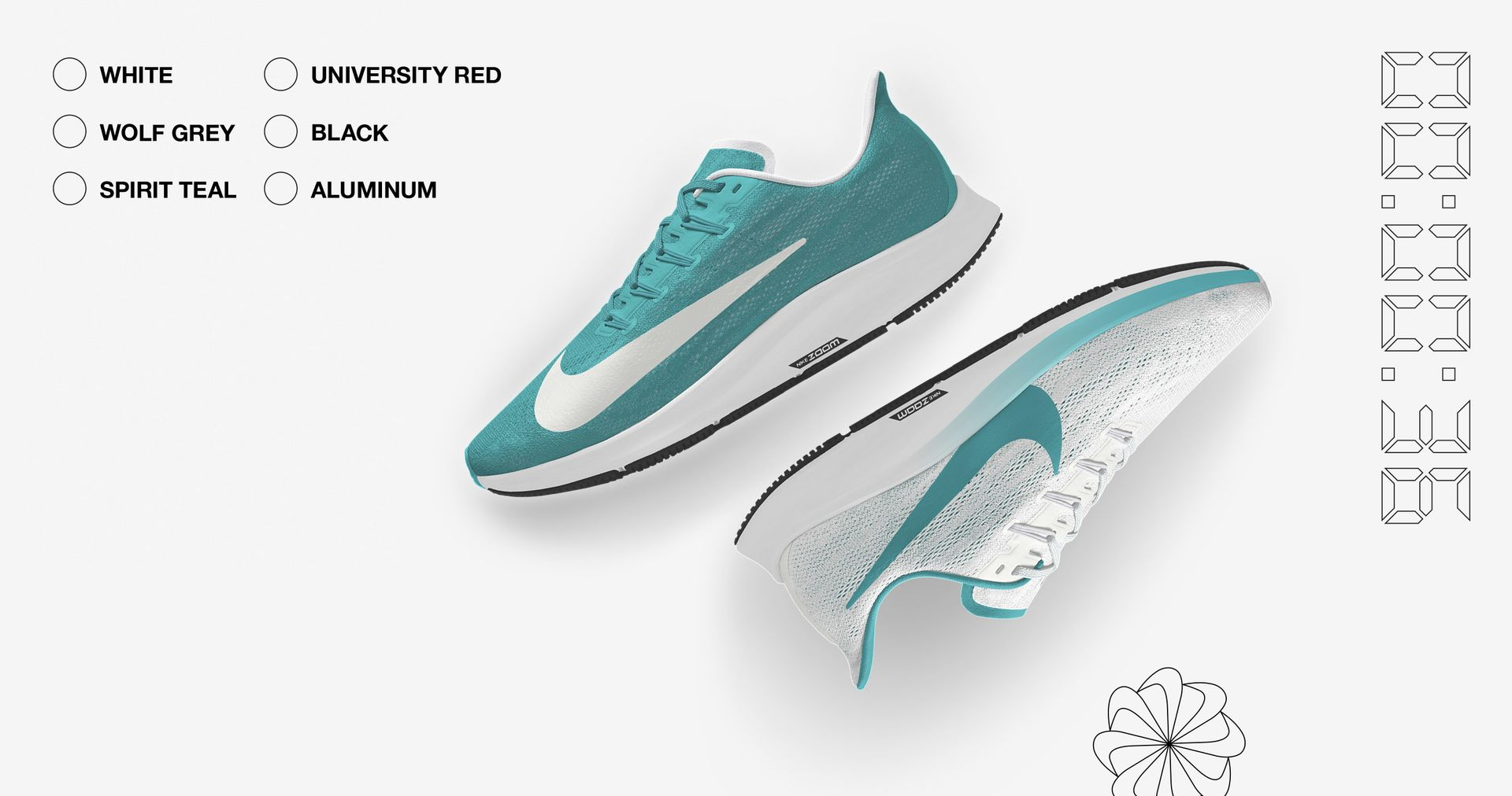 ffb49e1046d Personalise the Pegasus 36 with bold colour combinations and metallic  elements.